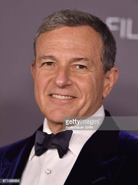 Bob Iger arrives at the 2017 LACMA Art Film Gala at LACMA on November 4 2017 in Los Angeles California