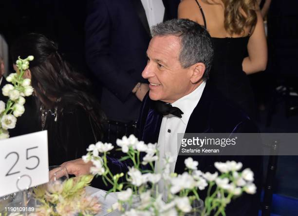 Bob Iger attends the 2019 LACMA Art Film Gala Presented By Gucci at LACMA on November 02 2019 in Los Angeles California