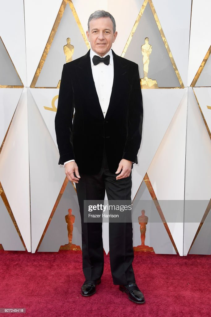 Bob Iger attends the 90th Annual Academy Awards at Hollywood & Highland Center on March 4, 2018 in Hollywood, California.