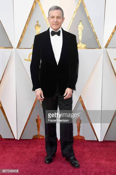 Bob Iger attends the 90th Annual Academy Awards at Hollywood Highland Center on March 4 2018 in Hollywood California