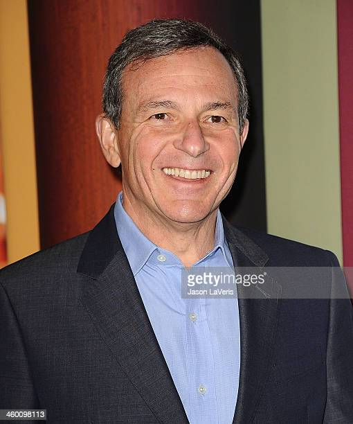 Bob Iger attends the premiere of 'Saving Mr Banks' at Walt Disney Studios on December 9 2013 in Burbank California