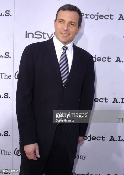 Bob Iger during 4th Annual Friends Finding A Cure Gala Benefiting Project ALS at Walt Disney Studios in Burbank California United States