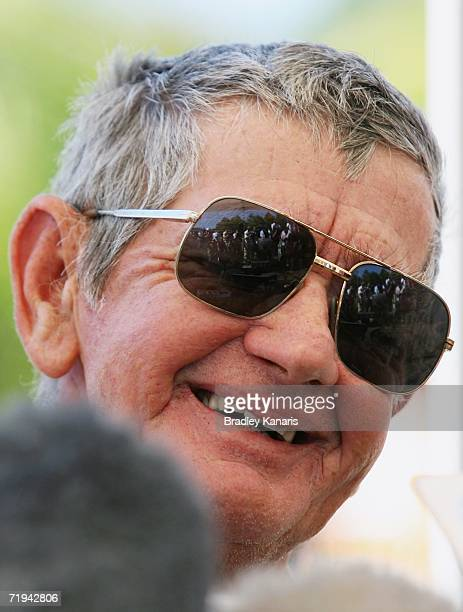 Bob Irwin attends a press conference after the Steve Irwin Memorial Service on September 20 2006 in Beerwah Australia Steve Irwin known as the...