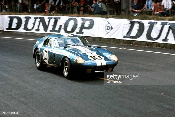 Bob JohnsonTom Payne's American Shelby Cobra Daytona Coupe racing in the Le Mans 24Hour race 20 June 1965