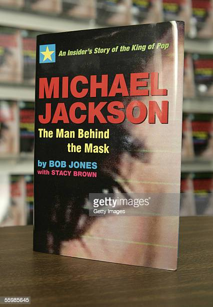 Bob Jones's book Michael Jackson The Man behind the Mask is displayed at Waldenbooks October 22 2005 in Los Angeles California