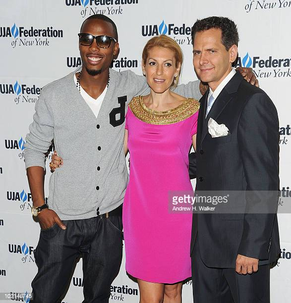 BoB Julie Greenwald and Craig Kallman attend the UJAFederation's 2010 Music Visionary of the Year award luncheon at The Pierre Ballroom on June 16...