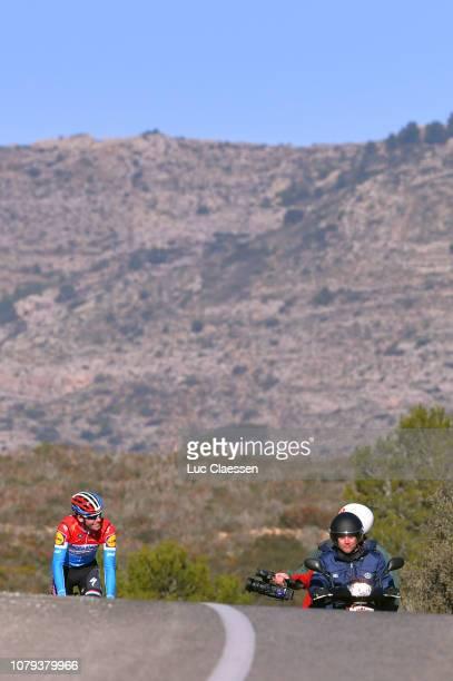 Bob Jungels of Luxembourg and Deceuninck - Quick-Step Team / Klaas Lodewyck of Belgium Sportsdirector of Deceuninck - Quick-Step Team of Belgium /...