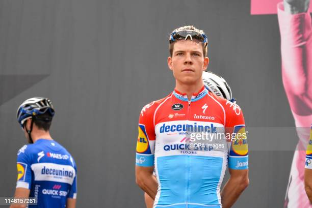 Bob Jungels of Luxembourg and Team Deceuninck seen during the 102nd edition of the Giro d'Italia 2019, Stage 13 a 196km stage from Pinerolo to...