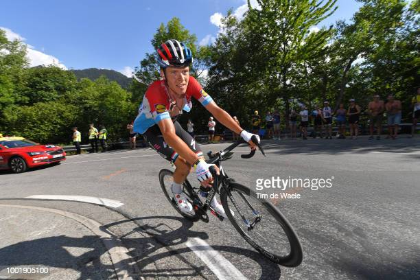 Bob Jungels of Luxembourg and Team Quick-Step Floors / during the 105th Tour de France 2018, Stage 12 a 175,5km stage from Bourg-Saint-Maurice Les...