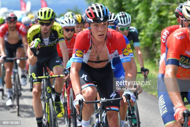 Bob Jungels of Luxembourg and Team QuickStep Floors / during the 70th Criterium du Dauphine 2018 Stage 4 a 181km stage from ChazeysurAin to...