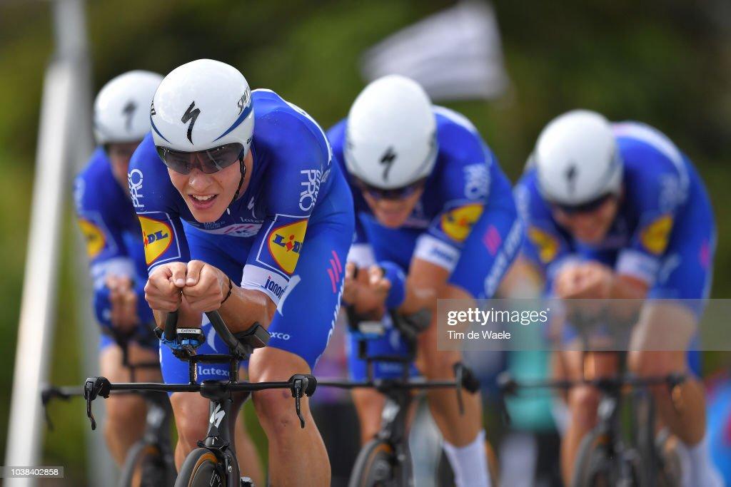 91st UCI Road World Championships 2018 - UCI Team Time Trial Men : Nachrichtenfoto