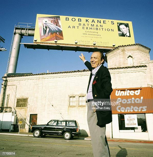 Bob Kane author of Batman 04/00/1989 Various Jonathan Exley Celebrity Archives