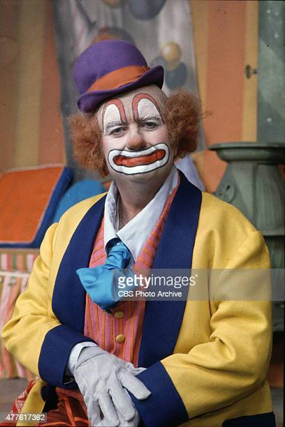 Bob Keeshan as the Town Clown on Captain Kangaroo Image dated 1976