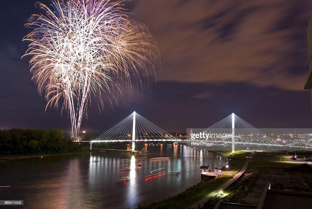 Bob Kerrey Bridge : Stock Photo