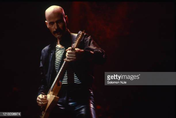 Bob Kulick Meat Loaf Midnight at the lost and found tour Wembley Arena 24 September 1983 Photo by Solomon N'Jie/Getty Images