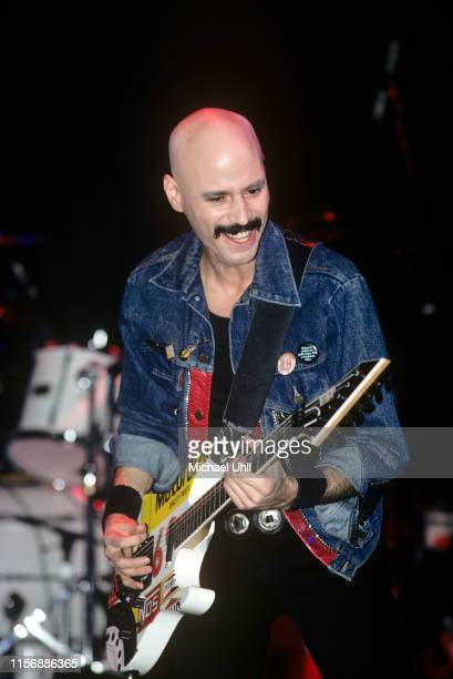 Bob Kulick performing at The Ritz in New York City on March 11 1989