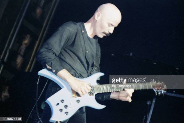Bob Kulick performs with Meatloaf at club The Ritz on June 15 1983 in New York City