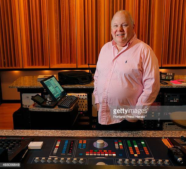 Bob Ludwig a music producer and owner of Gateway Mastering in Portland poses for a portrait in his sound studio Tuesday November 12 2013