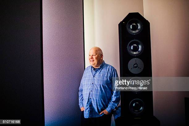 Bob Ludwig in his studio at Gateway Mastering in Portland ME on Friday January 29 2016