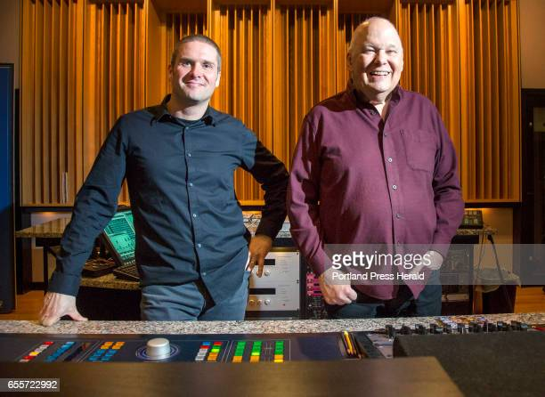 Bob Ludwig right and Adam Ayan of Gateway Mastering Studios