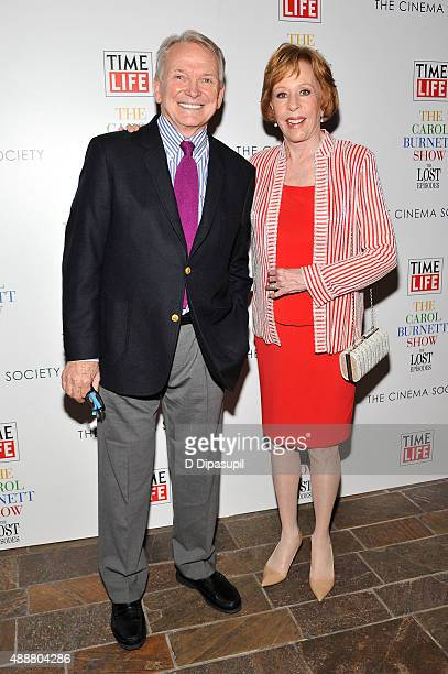 """Bob Mackie and Carol Burnett attend the """"The Carol Burnett Show: The Lost Episodes"""" screening hosted by Time Life and The Cinema Society at The Roxy..."""