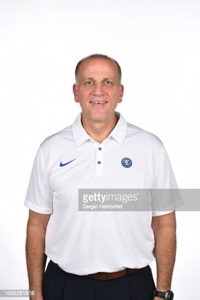 Bob MacKinnon head coach of the Texas Legends poses for a head shot during the NBA GLeague media day at Dr Pepper Arena in Frisco Texas NOTE TO USER...