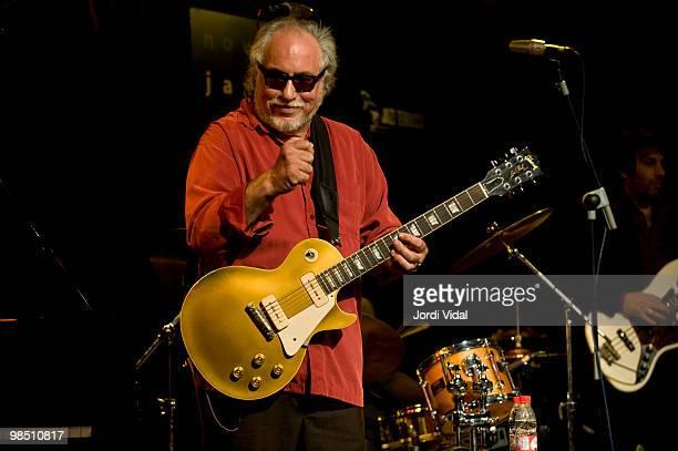 Bob Margolin performs on stage at Nova Jazz Cava on April 16 2010 in Terrassa Spain