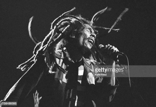 Bob Marley and the Wailers perform at the Uptown Theater, Chicago, Illinois, November 13, 1979.