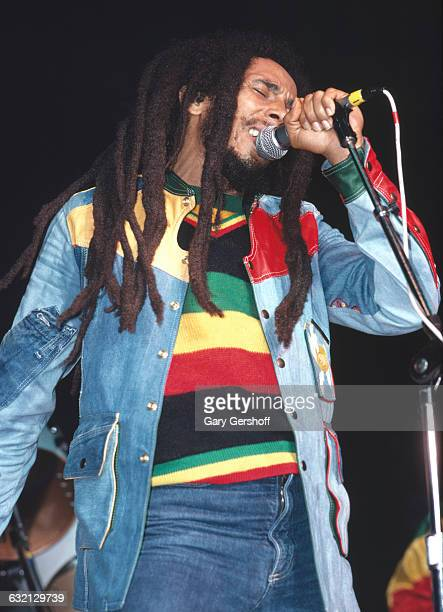 Bob Marley performs live at Madison Square Garden New York NY August 19 1980