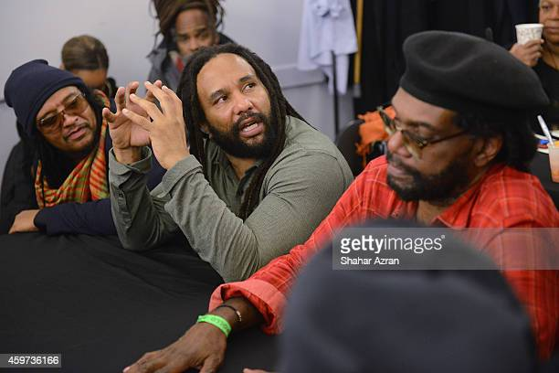 Bob Marley's son KyMani Marley backstage at the The Apollo Theater on November 29 2014 in New York City