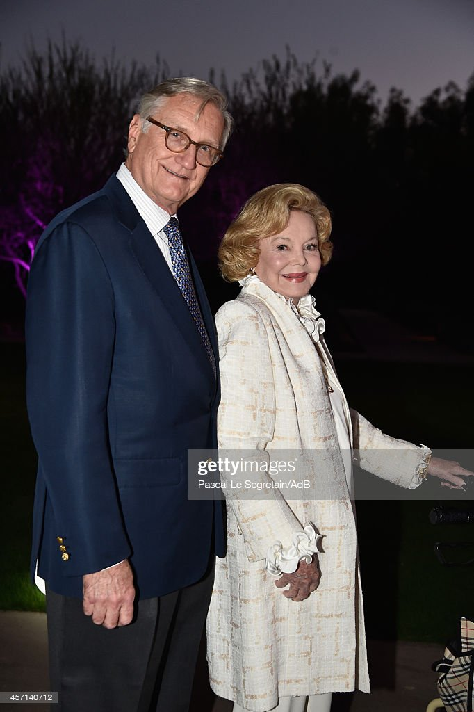 Bob Marx and Barbara Sinatra arrive to attend 'Prince Albert II of Monaco's Foundation' Award Ceremony on October 12, 2014 in Palm Springs, California.