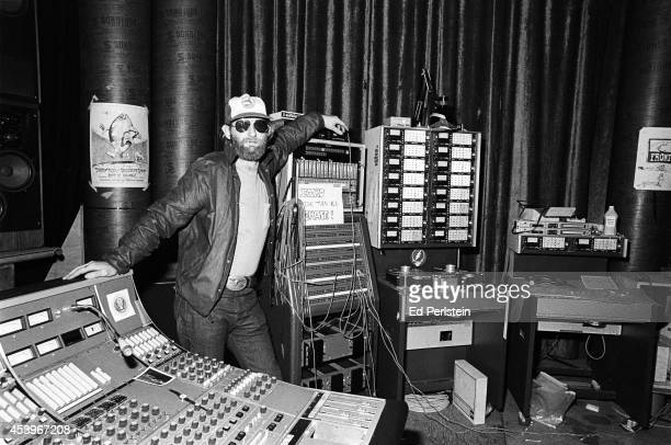 Bob Matthews, sound engineer for The Grateful Dead, poses at Club Front, the Grateful Dead's rehearsal studio in November, 1977 in San Rafael,...