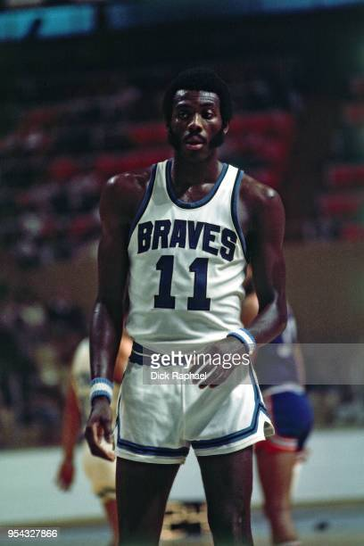 Bob McAdoo of the Buffalo Braves looks on during a game circa 1974 at the Buffalo Memorial Auditorium in Buffalo New York NOTE TO USER User expressly...