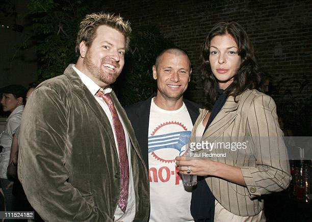 Bob Merick Grant Show and Pollyanna McIntosh during Animal Avengers Party Hosted by Shannon Elizabeth at Les Deux in Hollywood CA United States