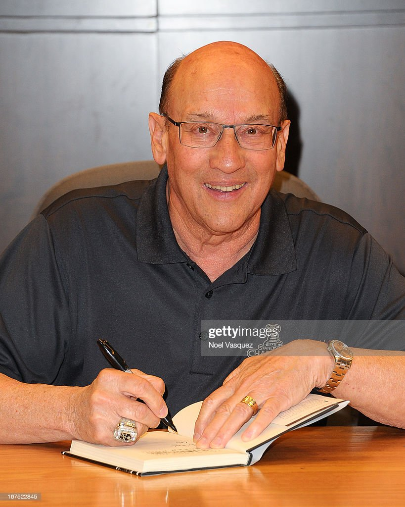 Bob Miller attends his book signing at Barnes & Noble bookstore at The Grove on April 25, 2013 in Los Angeles, California.