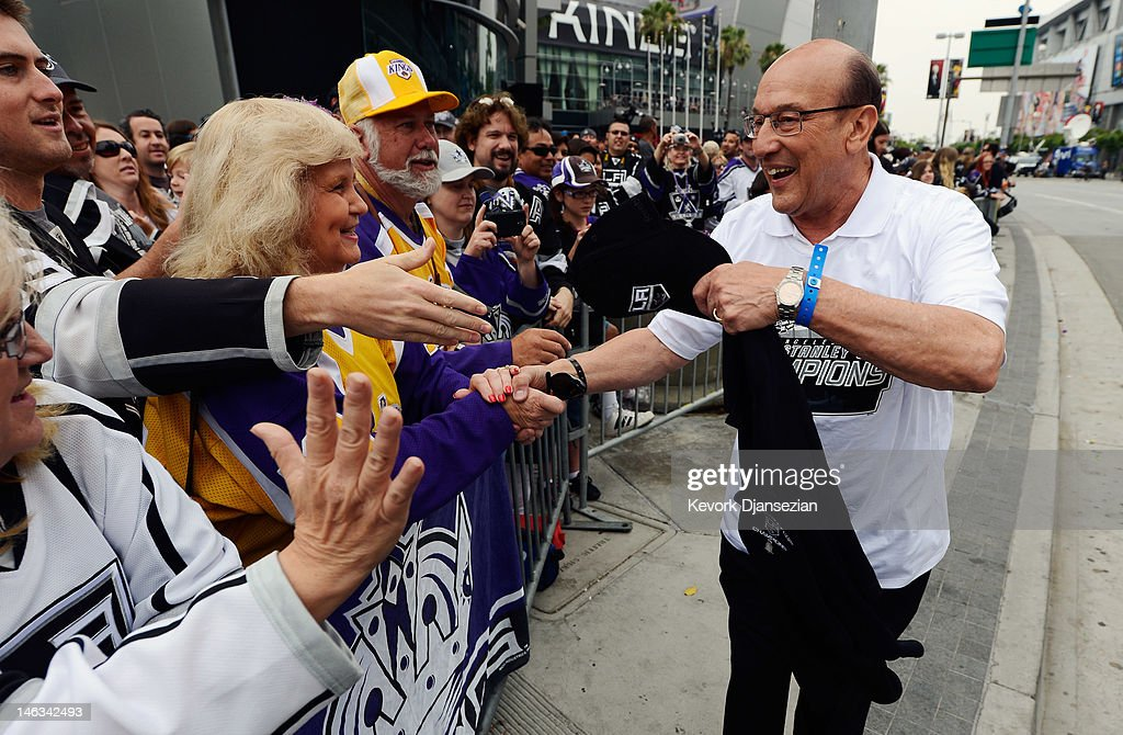 Los Angeles Kings Stanley Cup Victory Parade : News Photo