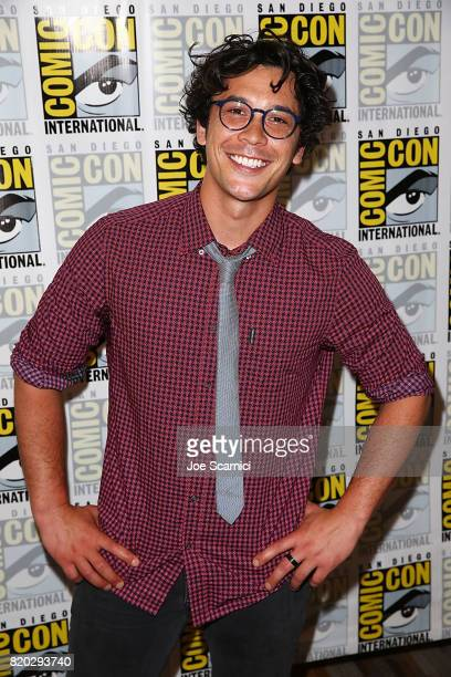 Bob Morley attends 'The 100' press line at ComicCon International 2017 on July 21 2017 in San Diego California