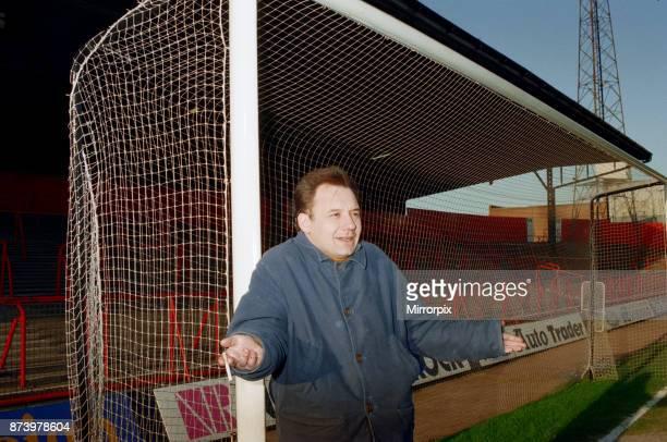 Bob Mortimer at Ayresome Park Middlesbrough FC's football ground circa 1994