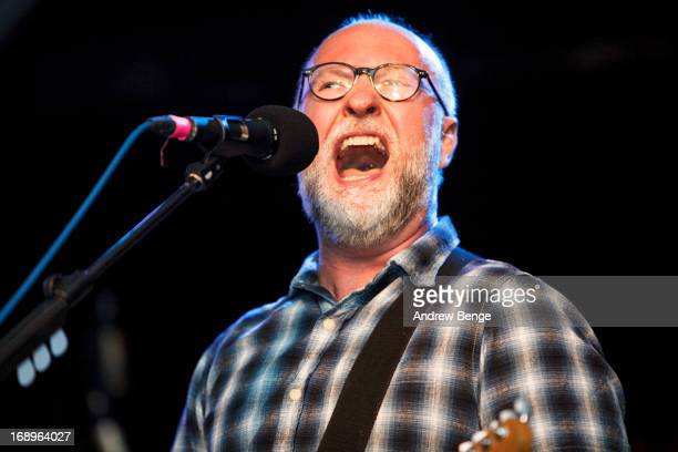Bob Mould performs on stage at Cockpit on May 17, 2013 in Leeds, England.