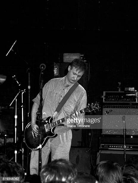 Bob Mould performs onstage at Cabaret Metro in Chicago Illinois USA on May 14 1989