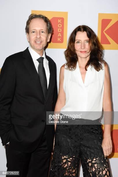 Bob Muller and Mariana Camargo attend KODAK's Inaugural Oscar Gala at Nobu on February 26, 2017 in Los Angeles, California.