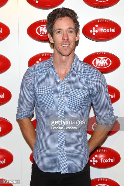 Bob Murphy poses during the 2018 FOX FOOTY AFL Season Launch on March 7 2018 in Melbourne Australia