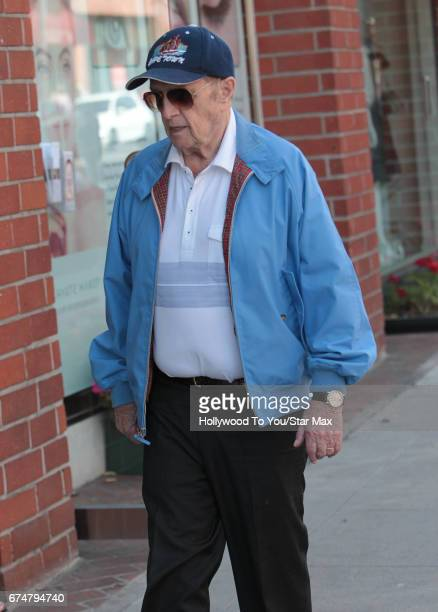 Bob Newhart is seen on April 28 2017 in Los Angeles CA
