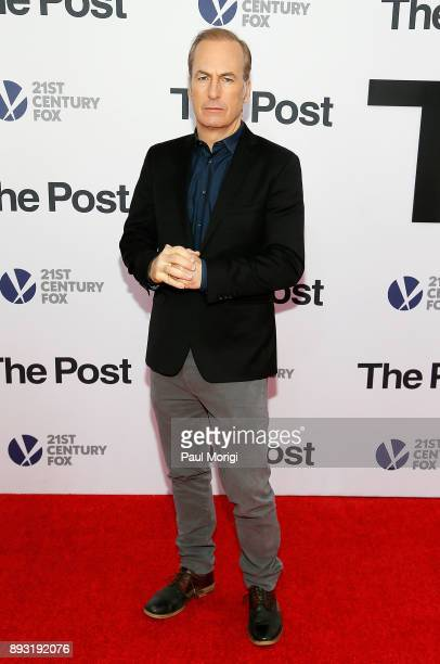 Bob Odenkirk arrives at 'The Post' Washington DC Premiere at The Newseum on December 14 2017 in Washington DC