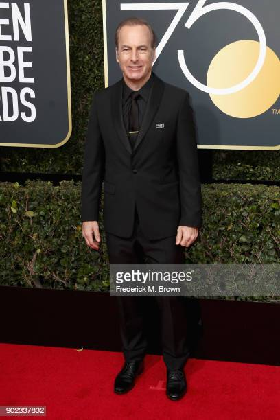 Bob Odenkirk attends The 75th Annual Golden Globe Awards at The Beverly Hilton Hotel on January 7 2018 in Beverly Hills California