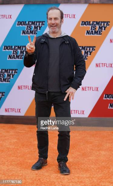 """Bob Odenkirk attends the LA premiere of Netflix's """"Dolemite Is My Name"""" at Regency Village Theatre on September 28, 2019 in Westwood, California."""