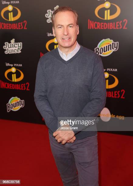 """Bob Odenkirk attends the World Premiere Of Disney-Pixar's """"Incredibles 2"""" at El Capitan Theatre on June 5, 2018 in Los Angeles, California."""