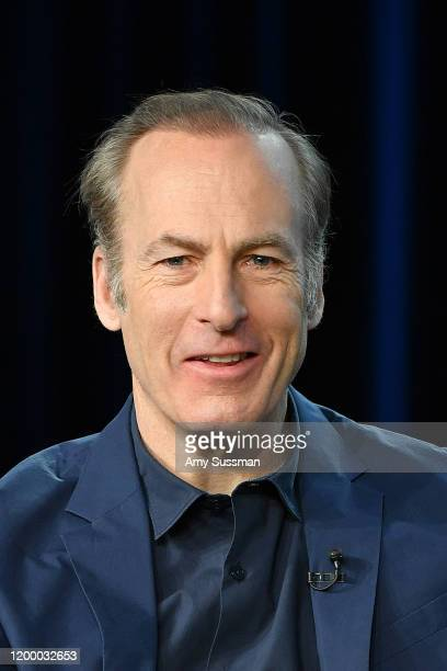 """Bob Odenkirk of """"Better Call Saul"""" speaks during the AMC segment of the 2020 Winter TCA Press Tour at The Langham Huntington, Pasadena on January 16,..."""
