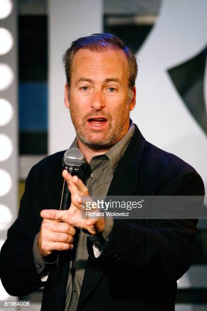 Bob Odenkirk performs during the Sketch Show at the 2008 'Just For Laughs' Comedy Festival on July 16 2008 in Montreal Canada