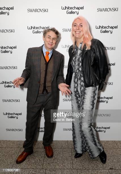 Bob Pain and Liza Kenrick attend a glamorous gala dinner at Whitechapel Gallery as Rachel Whiteread is celebrated as the recipient of the Whitechapel...